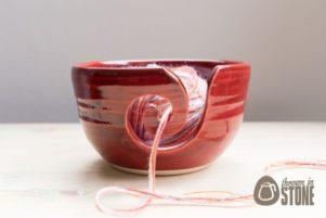 Red Yarn Bowl