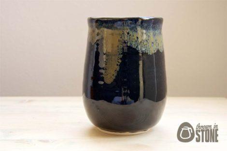 Handmade Black Vase