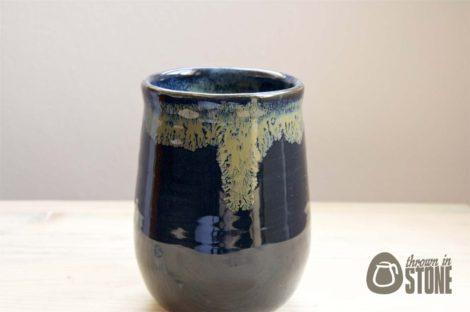 Black and Bronze Vase