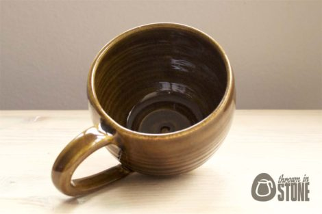 Brown Cappuccino Mug