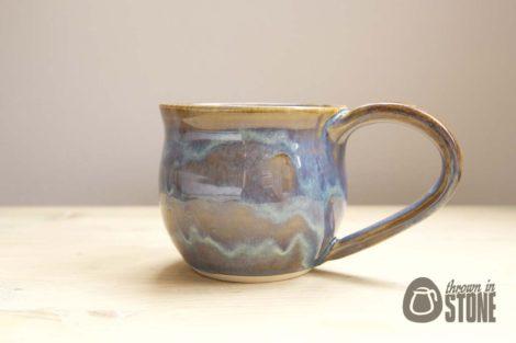Blue Stoneware Mug