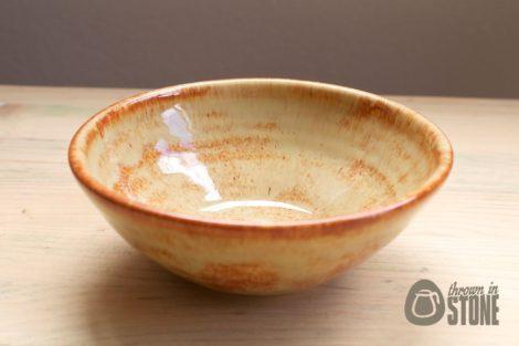 Fiery Orange Trinket Bowl