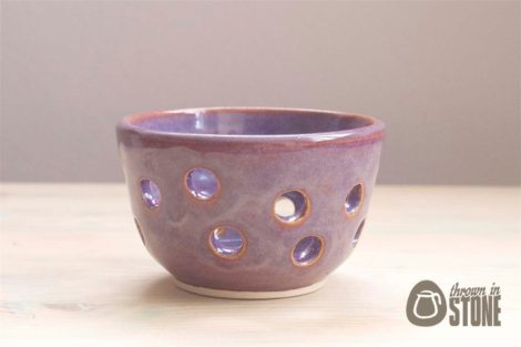 Purple Tea Light Holder