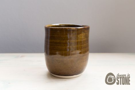 Brown Pencil Pot
