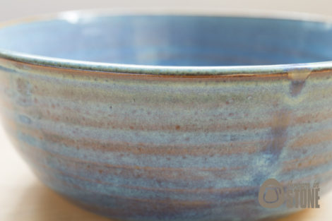 Blue Rustic Bowl