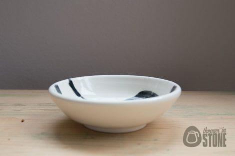 Black and White Trinket Dish