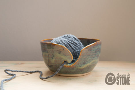 Green Yarn Bowl