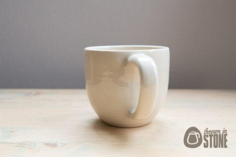 Cream handmade Mug