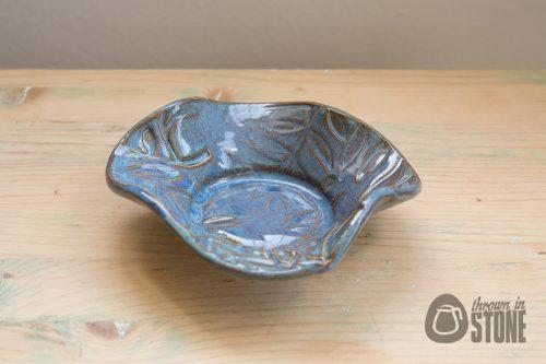 Blue Trinket Dish