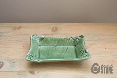 Green Catchall Tray