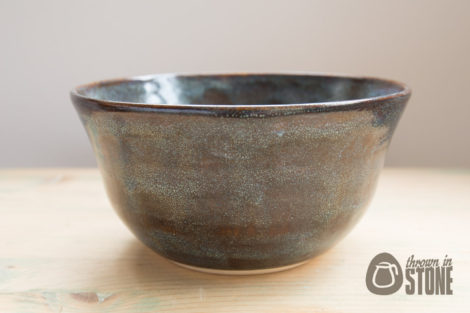 Blue and Brown Bowl
