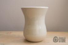 Rustic Cream Stoneware Vase
