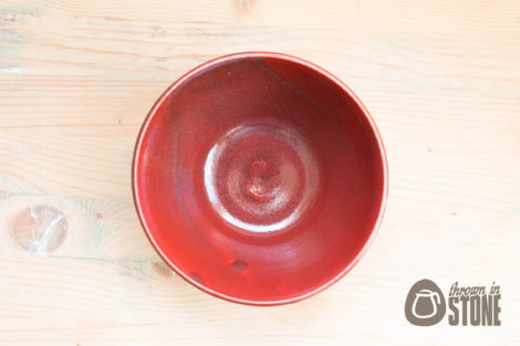 Handmade Red Bowl