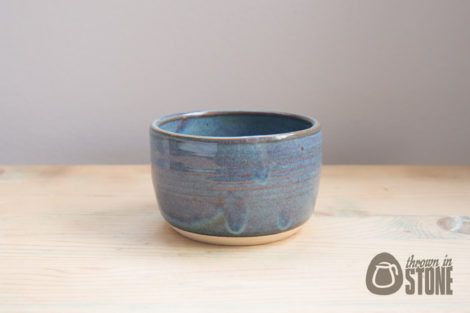 Blue Ceramic Sugar Dish
